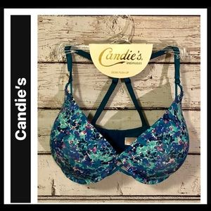 Candie's Demi Push-Up Bra with adjustable straps